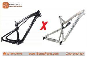 تفاوت دوچرخه فیبر کربنی