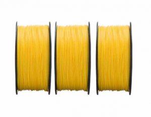 فیلامنت PLA زرد براق