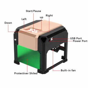 دستگاه حکاکی لیزر