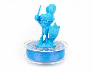 فیلامنت PLA آبی براق