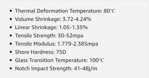 مشخصات فنی رزین ABS پرینتر سه بعدی ELEGOO